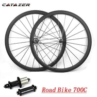 700c carbon bicycle wheelset 2325mm wide 38mm 50mm 60mm 88mm r36 hub super light road bike basalt v brake surface carbon wheels