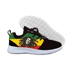 2019 Hot Fashion Men Women Reggae Star Bob Marley Outdoor Lightweight Sneakers Walking Breathable Shoes