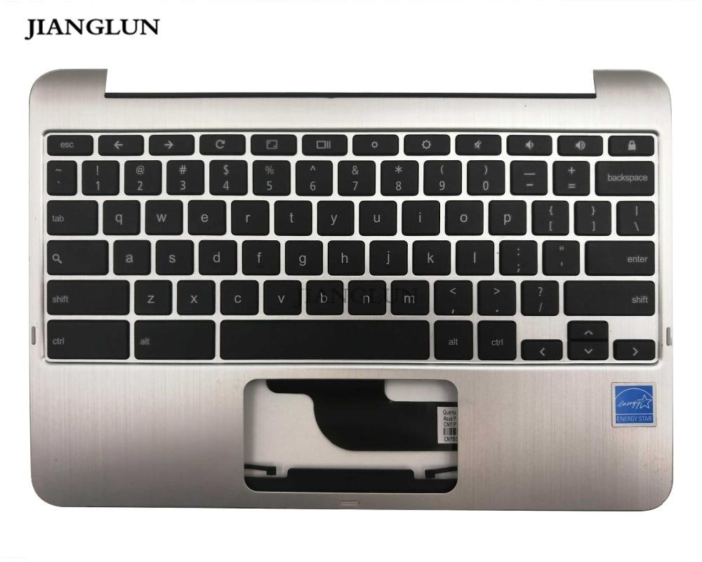 JIANGLUN для Asus C100PA Chromebook Palmrest с клавиатурой 90NL0971-R31US0