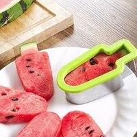 kitchen stainless steel ice cream shape watermelon slicer melon cutter mold tool melon cutter mold tool melon cutter mold tool