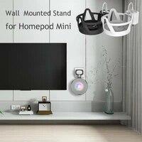 Support mural pour Homepod Mini  economie despace  gestion des cables de sortie de haut-parleur intelligent