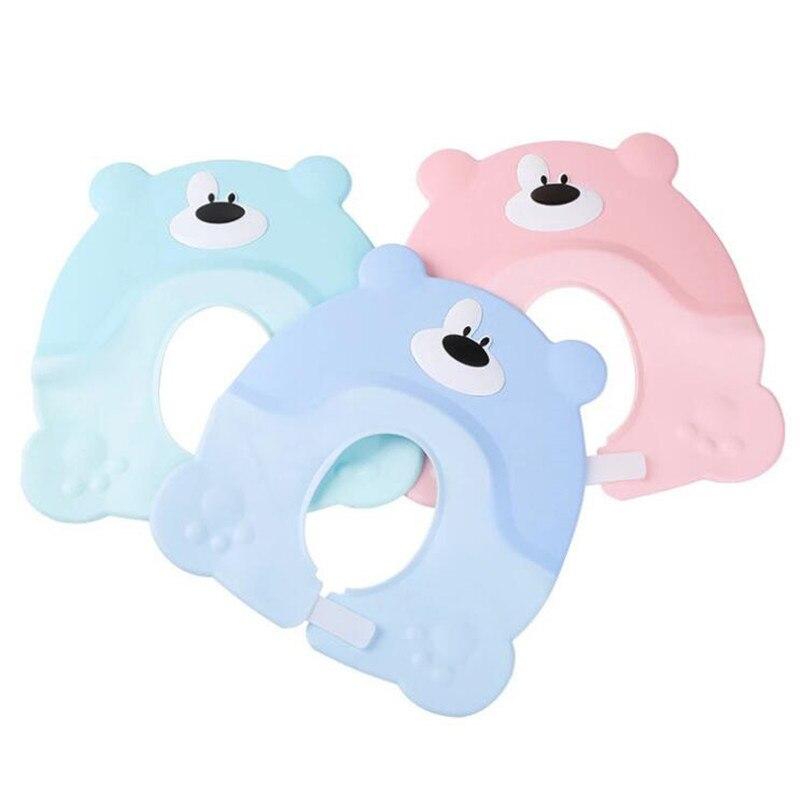 Korean Version Cute Baby Hat Toddler Kids Shampoo Bathing Shower Cap Wash Hair Caps For Baby Care Douchekap
