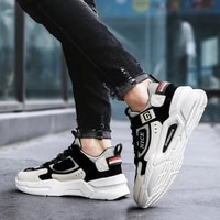 new fashion shoes for men casual high top chunky sneakers mens trainers tendencia 2021 breathable designer zapatillas de hombre