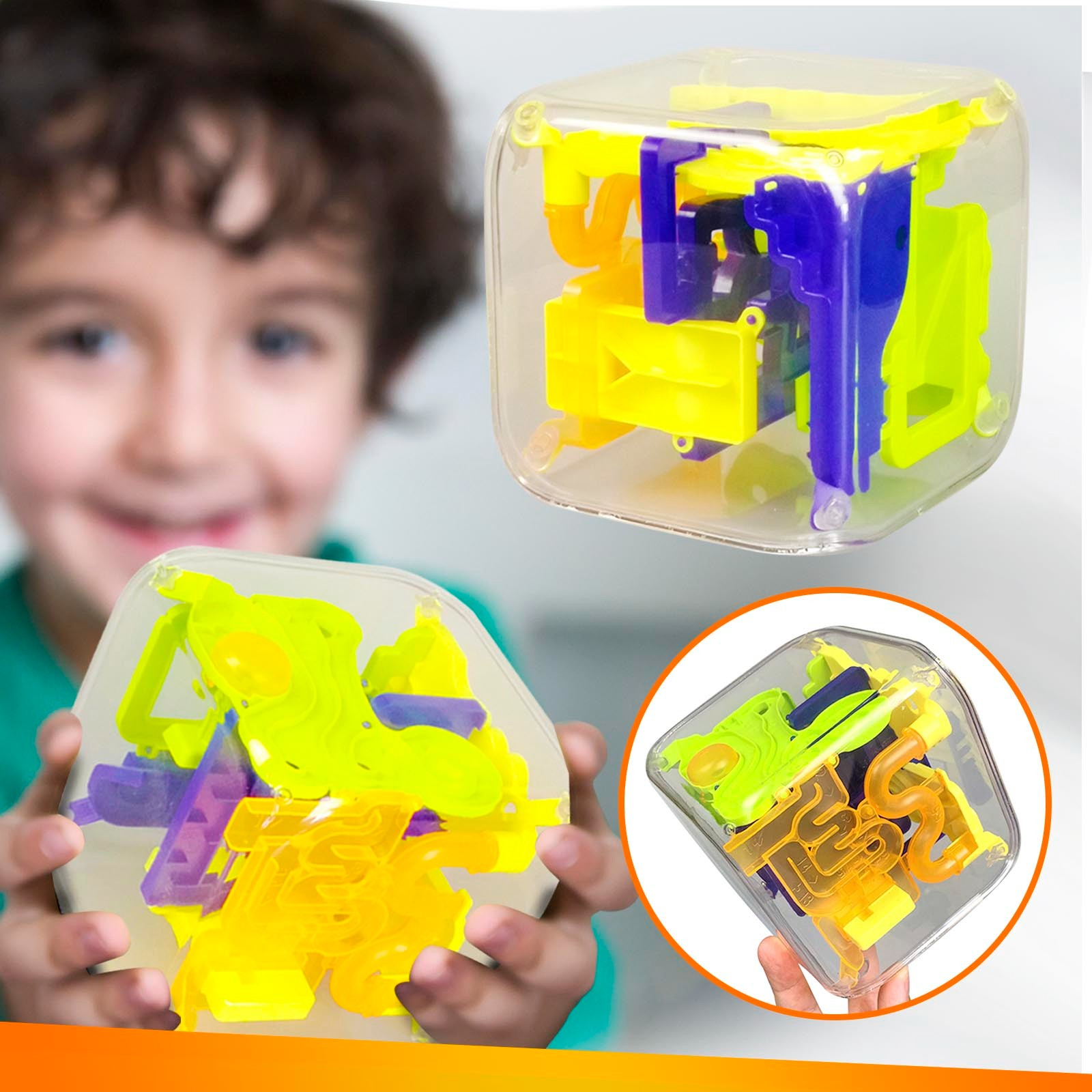 Puzzle Gravity Memory Sequence Maze Ball Children and Adult Educational Toys Gift Challenge Game Decompression Toys кубик 40* enlarge