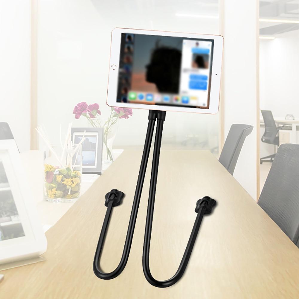 Clip 360, soporte para teléfono móvil, brazos largos, gancho perezoso, soporte para cama, soporte de escritorio, soporte de montaje para teléfono, soporte para teléfono