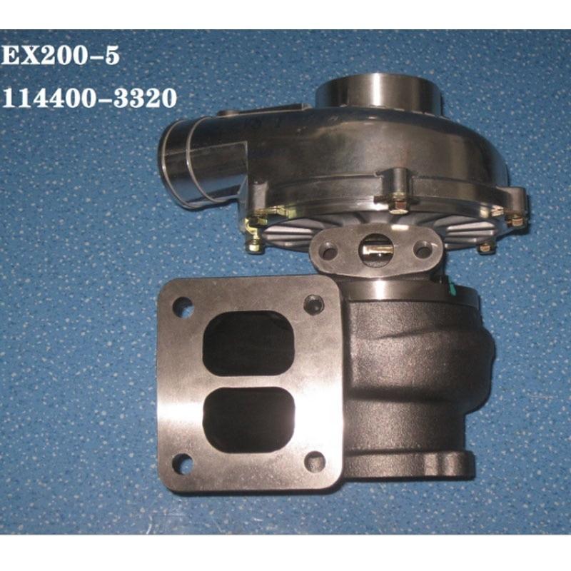 Turbo RHE61 Турбокомпрессор 114400-3480 VA720032 для 6BG1T двигателя EX200-5