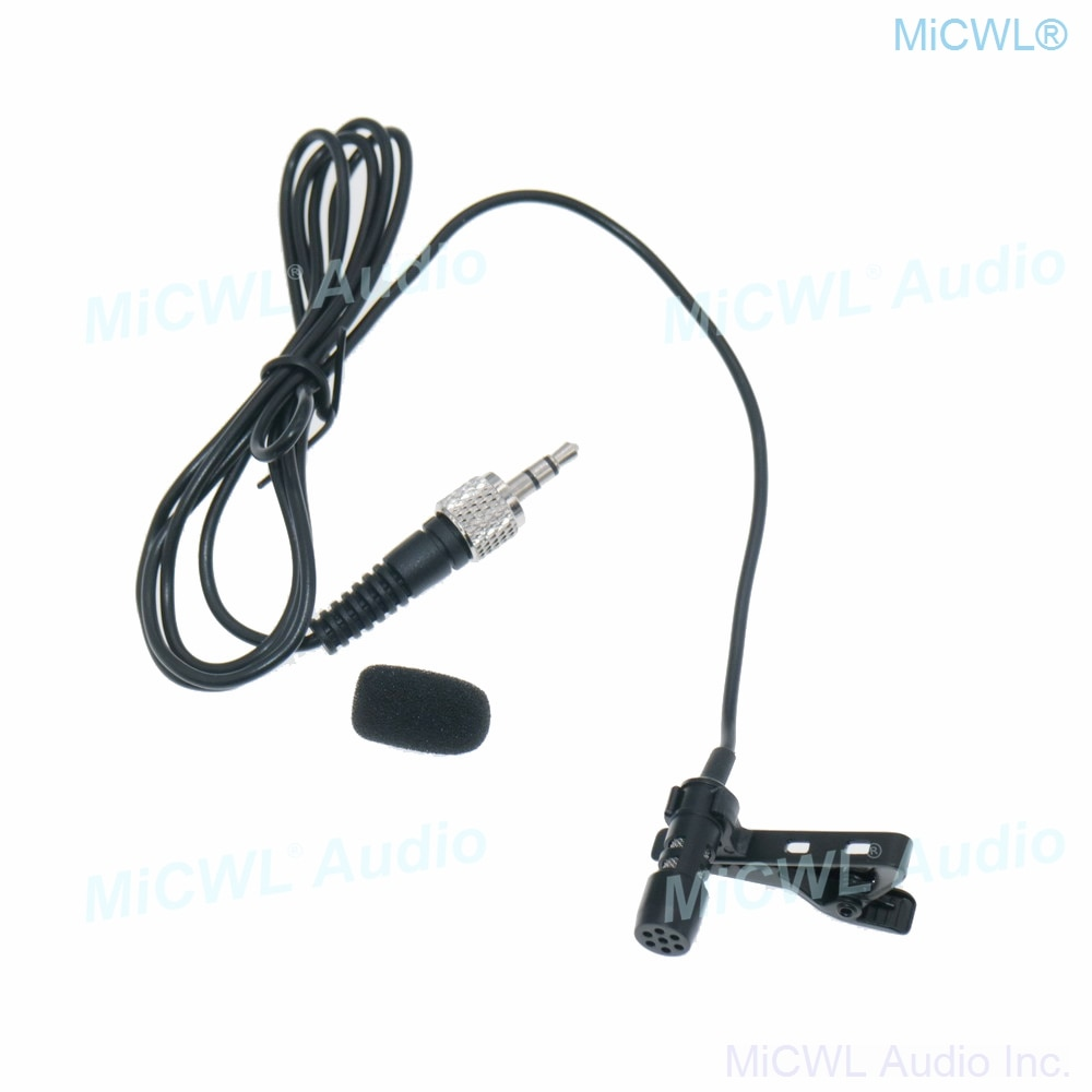 Hot Sale T55 Tie Clip Lavalier Lapel Microphone for Sennheiser G2 G3 G4 Wireless Belt Pack Unidirectional Mic 3.5mm Lock Screw enlarge