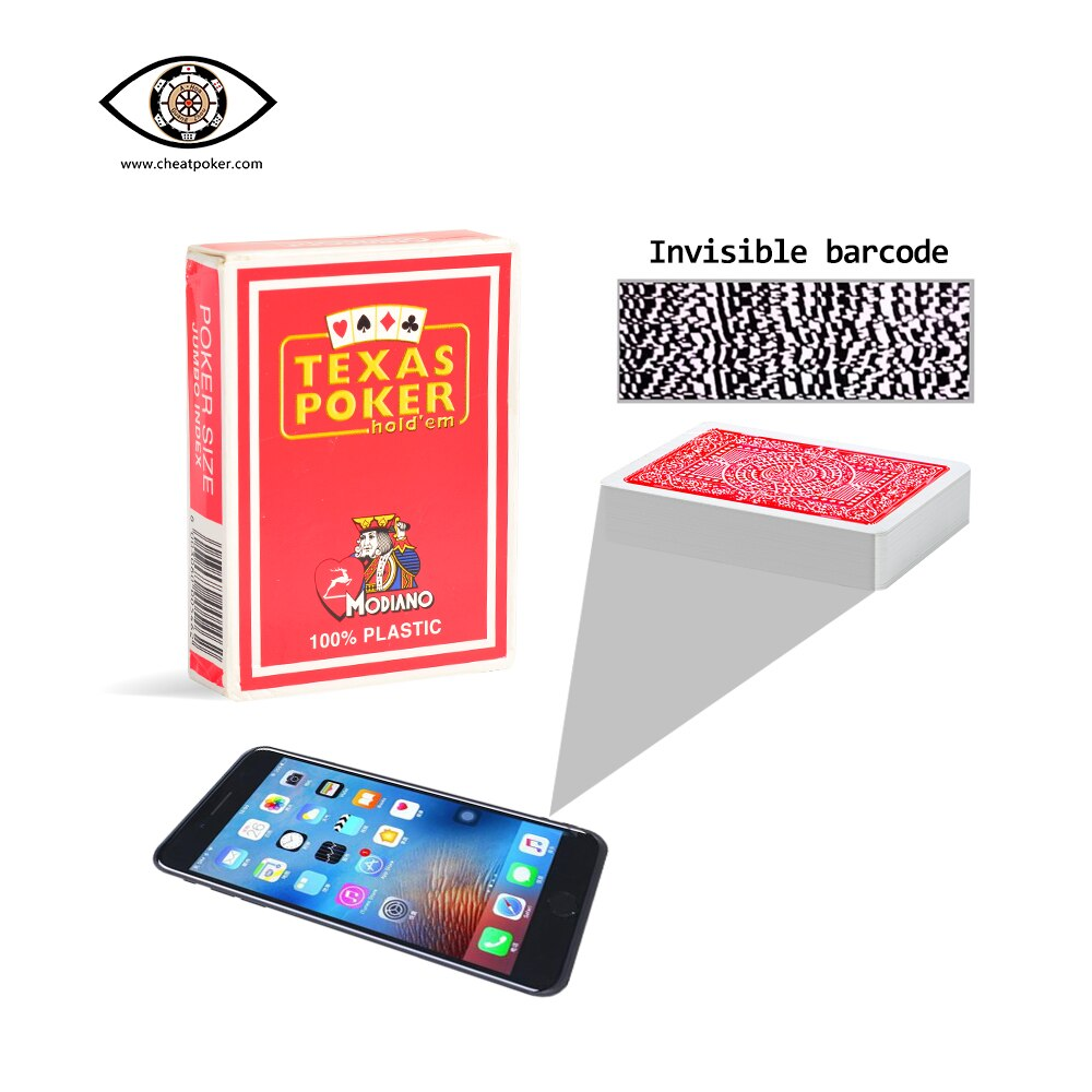 Фото - Mark Card Modiano Anti Cheat Texas Poker for Analyzer Plastic Magic Playing Cards Party Board Game Waterproof Deck mark harlan winning at internet poker for dummies