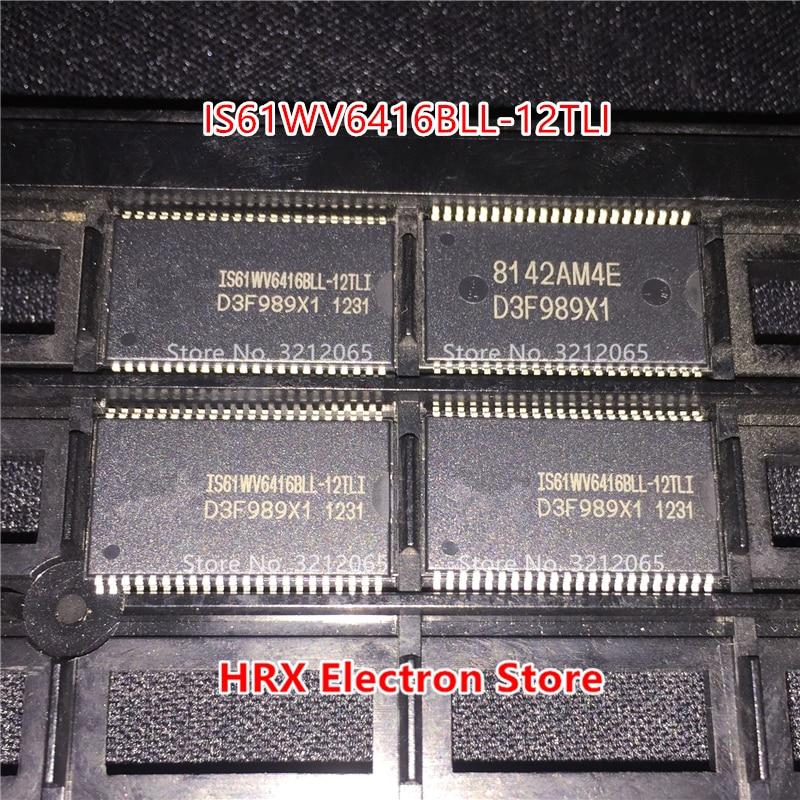 100% neue Original IS61WV6416BLL-12TLI SRAM TSOP44 IS61WV6416BLL 12TLI Freies Verschiffen