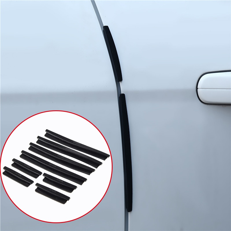 AliExpress - 8pcs/set Car Door Side Edge Protector Strip Auto SUV Scrape Guard Bumper Handle Protective Cover Sticker Universal Auto Decal