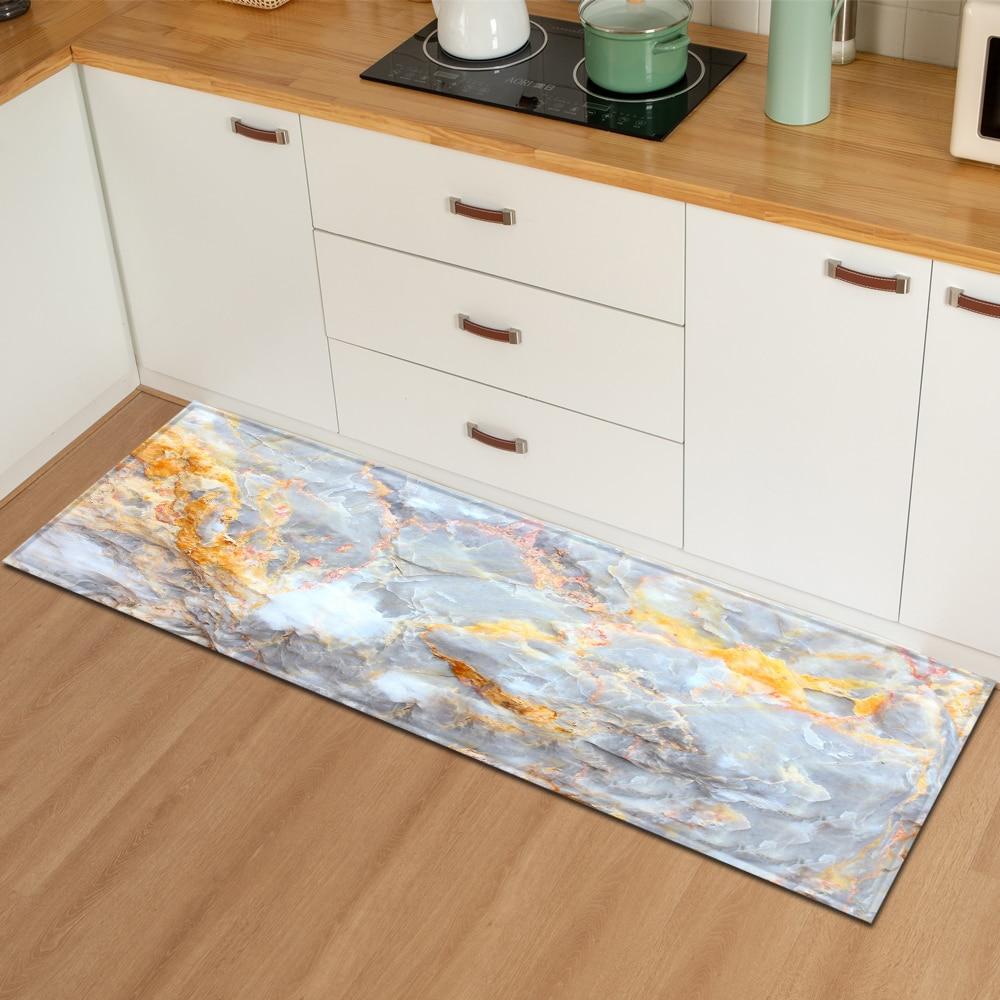 Nordic tapete de cozinha quarto entrada capacho corredor piso decoração sala de estar tapete banheiro absorção de água anti-derrapante
