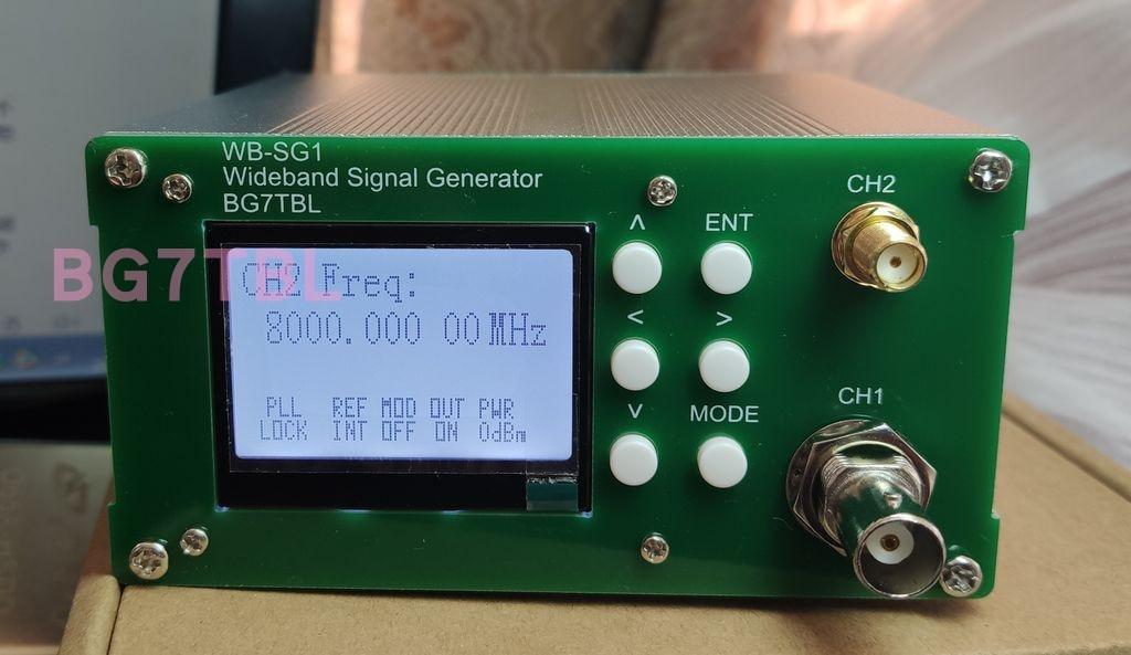 WB-SG1,1Hz-8GHz sinyal kaynağı, sinyal üreteci, on-off modülasyonu, yüksek frekanslı HF, RF 8G