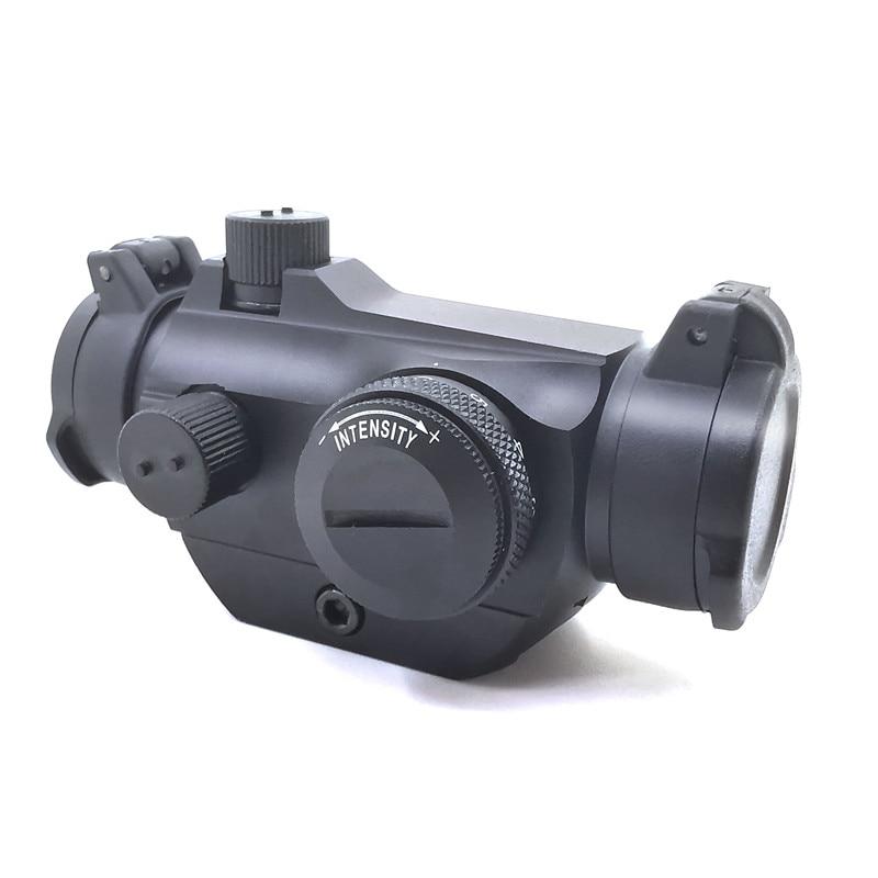 Tactical red dot sight 2moa T-2 rifescope vista iluminado sniper vermelho verde ponto vista com liberação rápida red dot scope