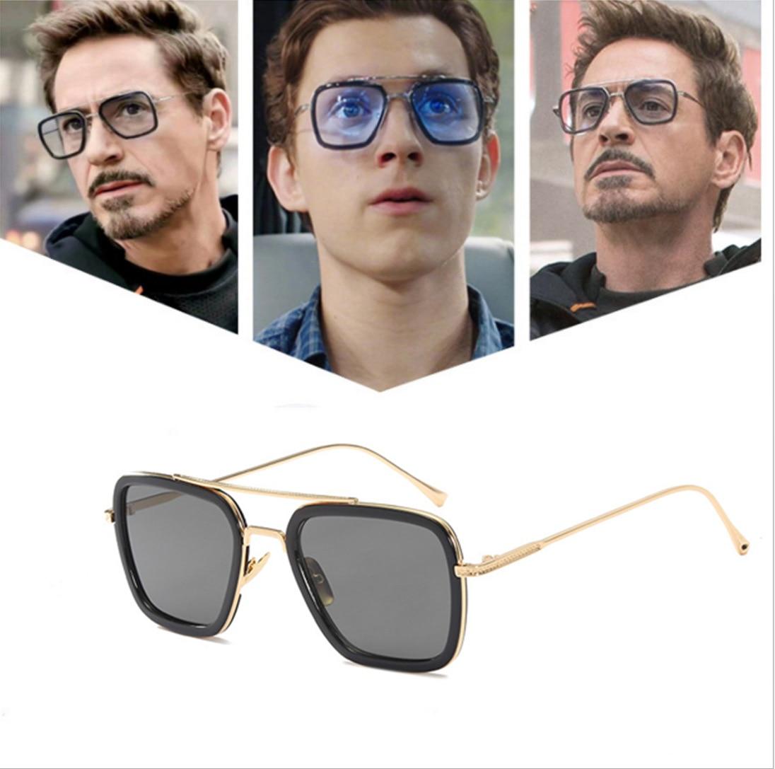 Модные мужские солнцезащитные очки для Хэллоуина Эдит женские очки далёкие от дома солнечные очки Питера Паркера Тони Старка