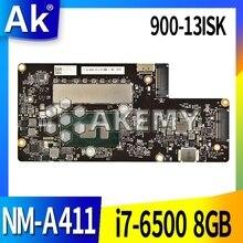 Original for Lenovo YOGA 900-13ISK laptop motherboard YOGA 900-13ISK For Lenovo NM-A411  I7-6500U 8GB BYG40 NM-A411 REV 1.0