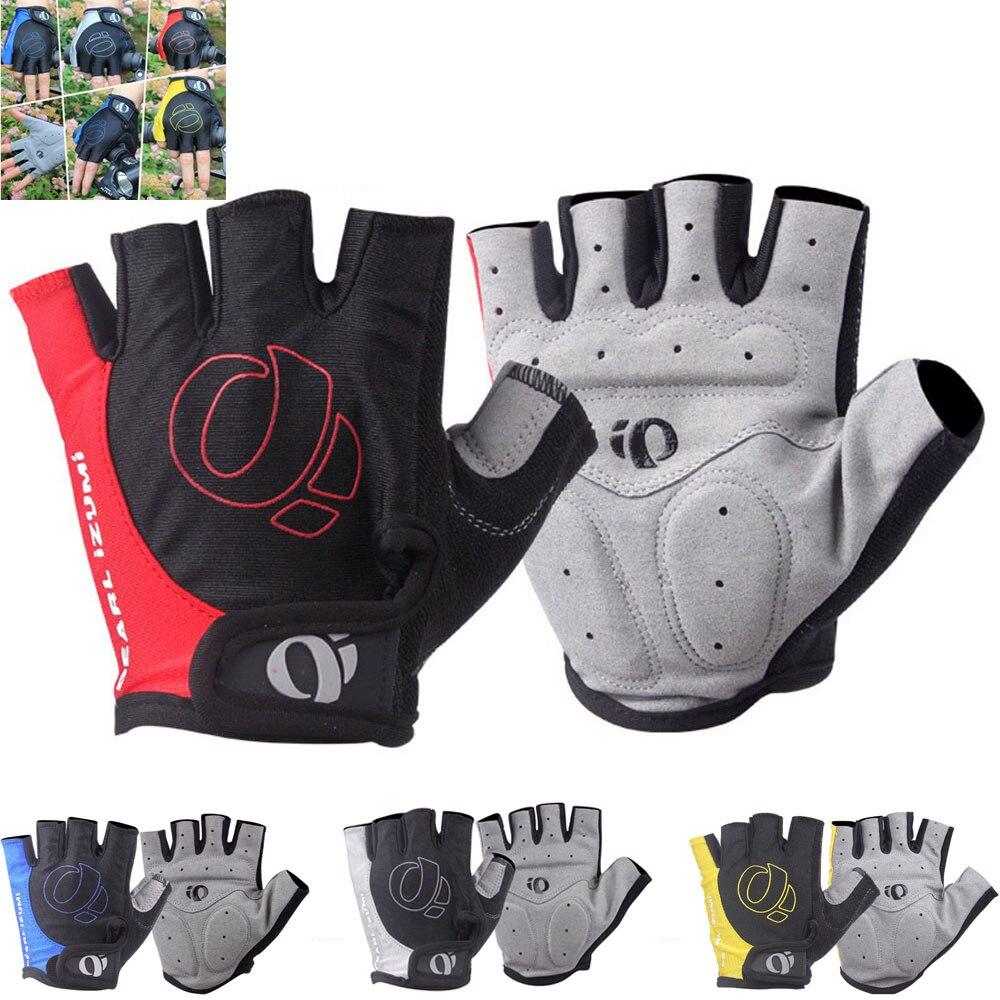 1 пар гелевых половинных перчаток, противоскользящие, противоскользящие, для горного велосипеда