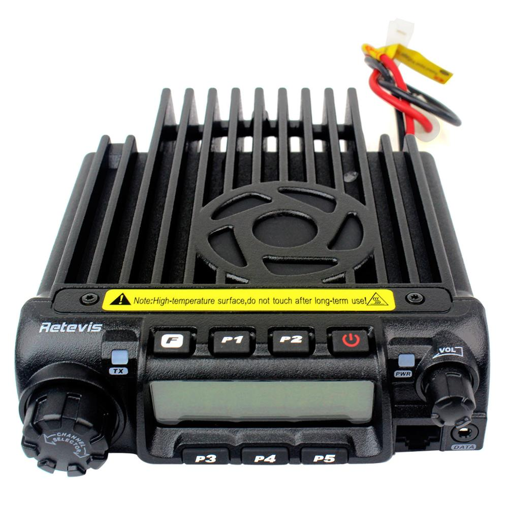 Retevis RT-9000D Mobile Car Radio Transceiver VHF (or UHF) 60W 200CH Scrambler Walkie Talkie+Speaker MIC+Program Cable