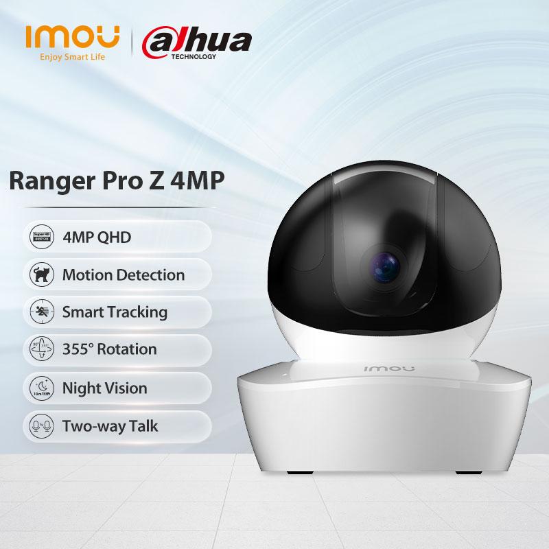 Dahua imou Ranger Pro Z 4MP Wifi IP камера ночного видения двухсторонняя голосовая связь видеонаблюдения домашняя камера