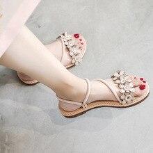 Women's Sandals Ladies Woman Sandals Slip On Ladies Casual Sandals Women Shoes Solid Platform Shoes