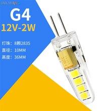 G4 Led-leuchten Perle Pin Kleine Birne Niedrigen Druck Kristall Lampe Mais Birne Highlight 220V Blase LED anhänger Lichter quelle