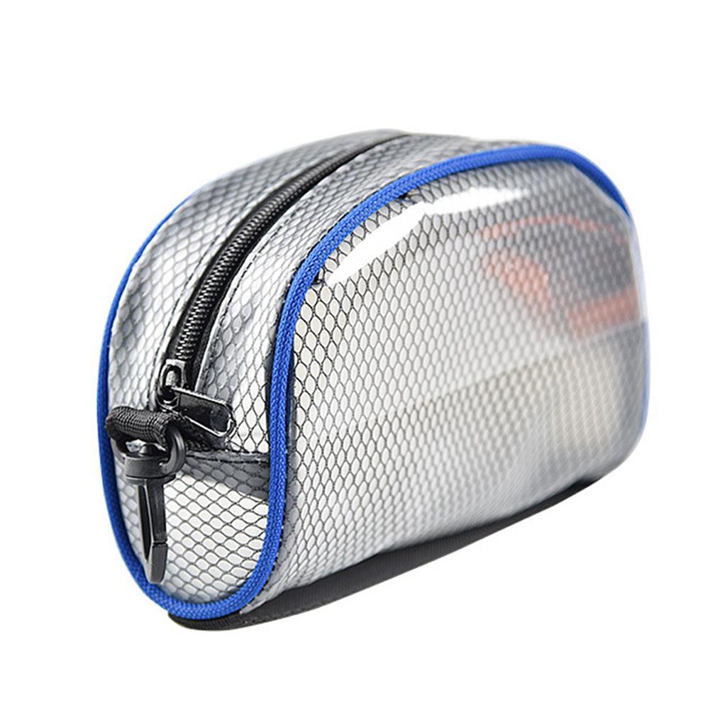 Bolsa de crampón para exteriores, bolsa de almacenamiento de crampón con cremallera para montañismo escalada