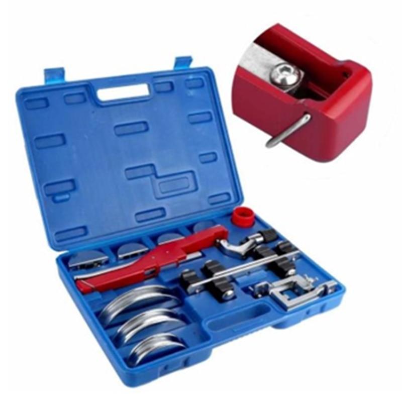 14Pcs 90 Degree Manual Pipe Tube Bender Tool Kit Aluminium Alloy With Tool Box 6-22mm(1/4-7/8in) enlarge