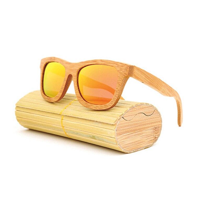 Nuevo 100% Gafas De Sol De madera Real De cebra, Gafas De Sol polarizadas hechas a mano De bambú para hombre, Gafas De Sol para hombre