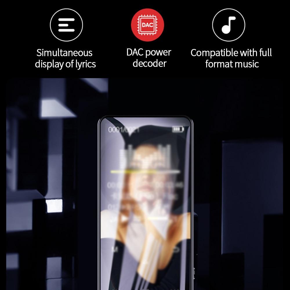 New Bluetooth MP4 Player 4-64GB HiFi Portable Audio Walkman With FM Radio E-Book Recorder MP4 Music Player Fm Radio enlarge