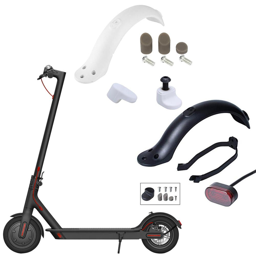Durable Scooter Mudguard  for Xiaomi M365/ M365 Pro Electric Scooter Tire Splash Fender with Rear Taillight Back Guard Wing
