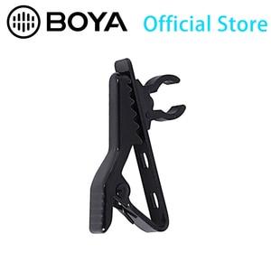 BOYA 5pcs black clips for BY-M1 Lavalier Microphone