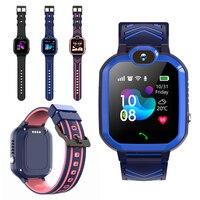 Детские Смарт-часы R7X, часы с кнопкой SOS, Детские Смарт-часы с GPS, GSM-локатор, сенсорный экран, водонепроницаемые, IP67, детские подарки