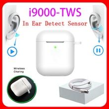 Último original i9000 TWS PK i12 Tws Bluetooth écouteur doble appels stéréo táctil inteligente casque sans fil Pk i200 i90000 pro