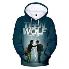 Neueste Mode 3D Klassische Männer/Frauen Hoodies Teen Wolf 3d Hoodies Persönlichkeit ong Hülse Tasche Homme 3D Hoodies Sweatshirts tops