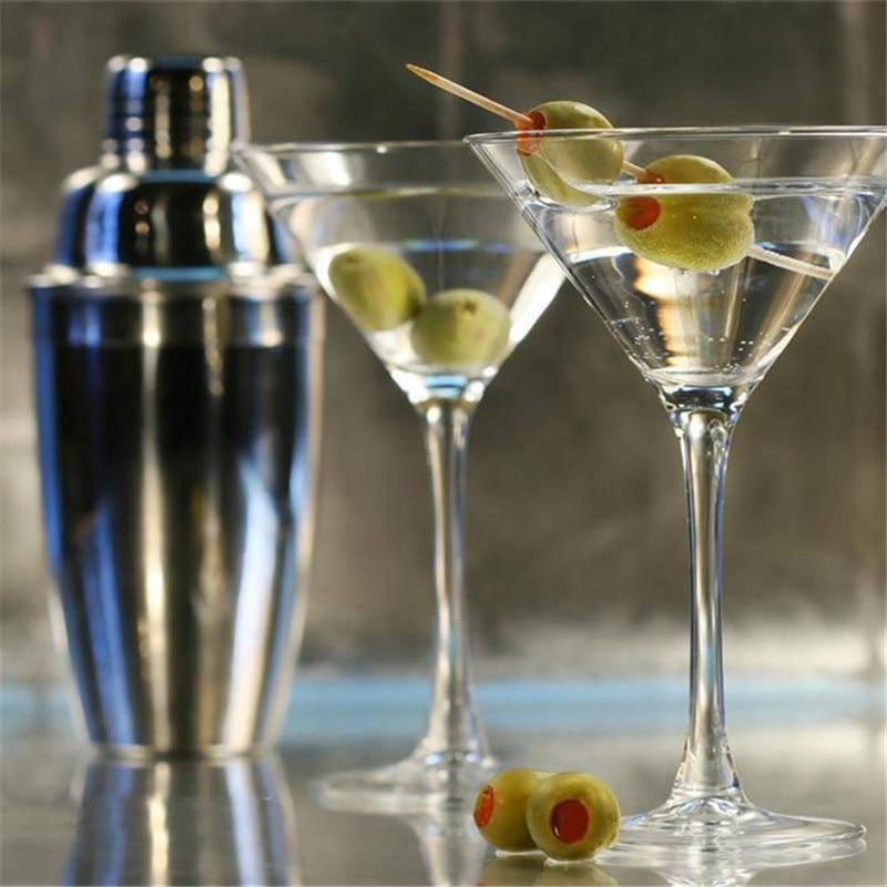 7Pcs Stainless Bar Cocktail Shaker set Barware set Making set with Crock Storage Box Kitchen Bar Wine set