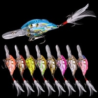 1pcs Trolling Winter fishing Group of fish Bionic hard bait 7.8cm 9.4g Artificial Crank lure Wobbler Rotate fishing gear goods