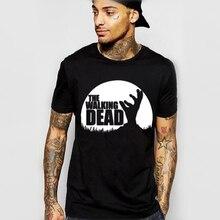 The Walking Dead Movie tshirt Paparazzi T-Shirt Rick Grimes Carl Daryl Michonne zombies Man fashion brand T shirts free shiping