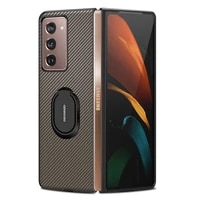 case for samsung galaxy z fold 2 case funda for galaxy z fold 2 case for samsung z fold 2 phone cover full protect leather capa