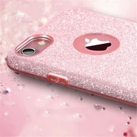 fashion sparkle diamond glitter phone case for iphone 8 7 6 6s plus soft silicon cover for iphone x xs 11 pro max xr woman cases