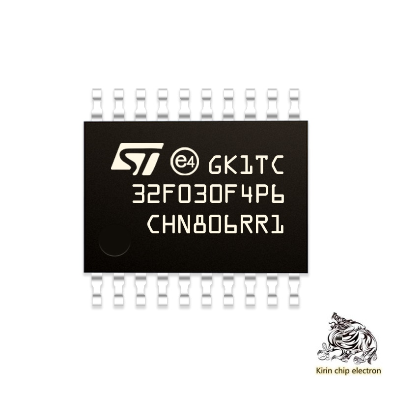 10 قطعة/الوحدة STM32F030F4P6 الإيطالية متحكم TSSOP20 ICchip MCU متحكم حقيقية