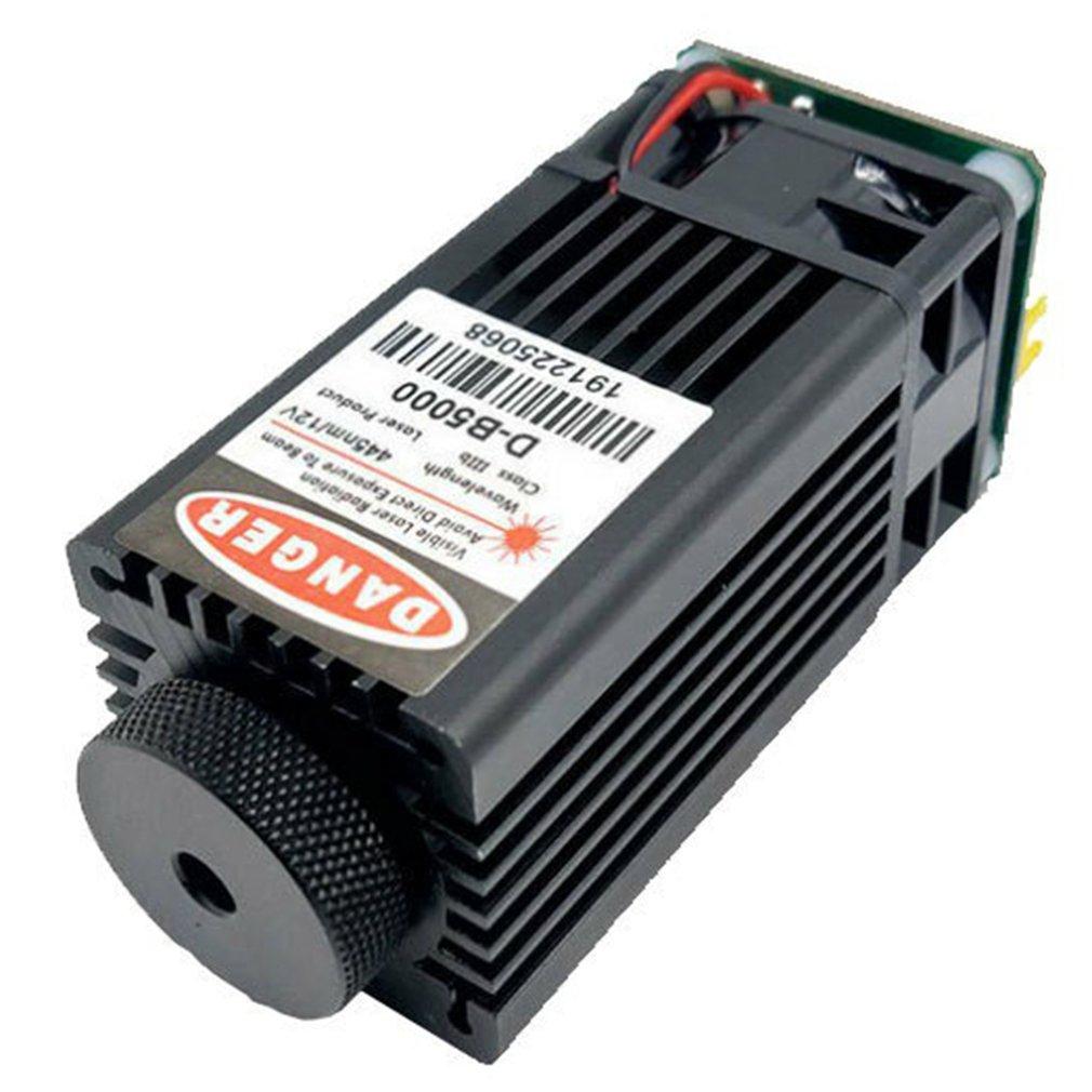 5 واط الليزر عالية الطاقة رئيس الليزر بمناسبة الليزر استقرار جيد الليزر قطع تحكم PWM مع حماية درجة الحرارة ضمان ساخن