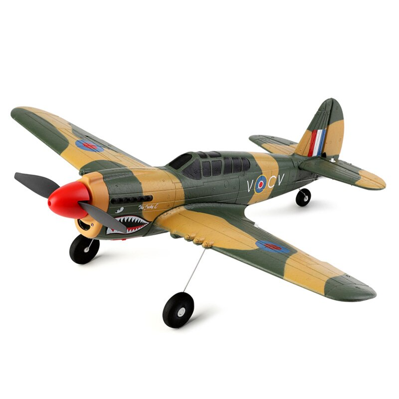 2021 NEW WLtoys A220 Four-Channel Like Real Machine P40 Fighter Remote Control Glider Unmanned Aircraft Model Outdoor Toy Gift enlarge
