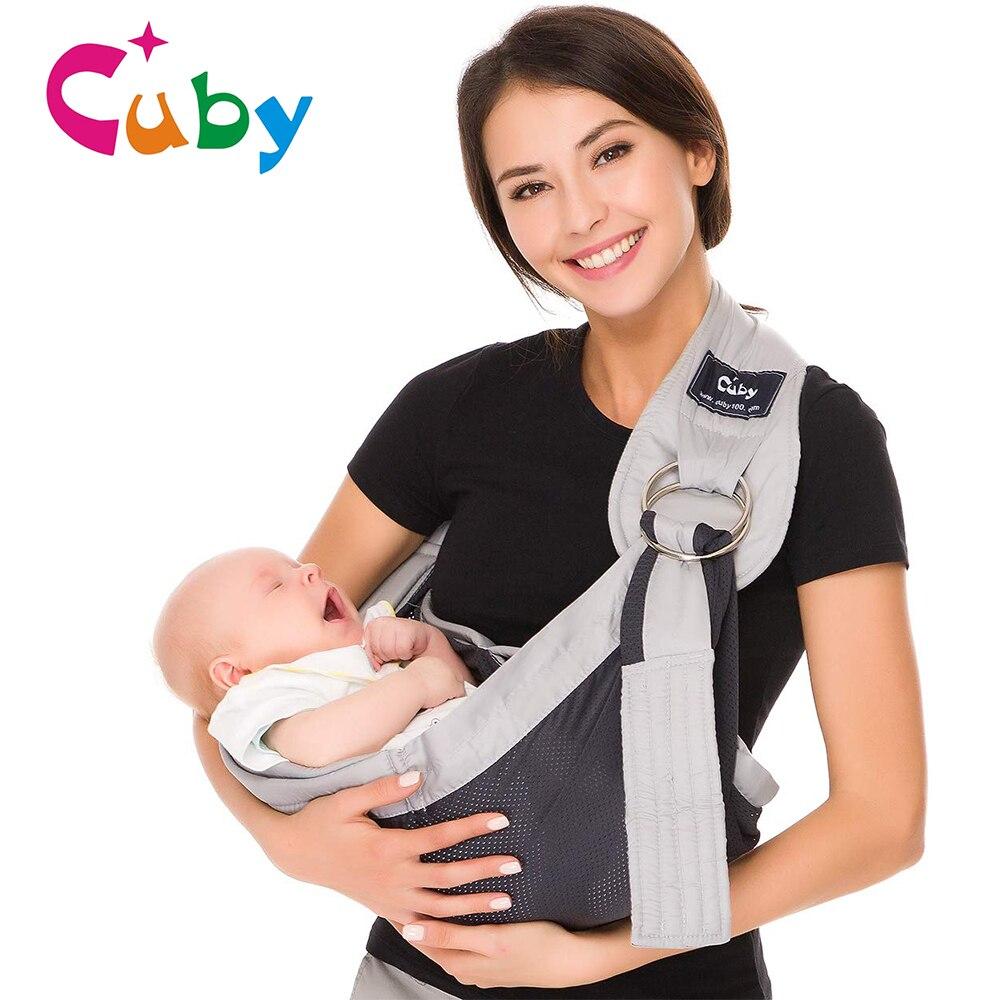 Мягкое детское кольцо на лямках, мягкое детское обертывание, бегемотик, нагрудное полотно, дышащая детская накидка для новорожденных, малыш...