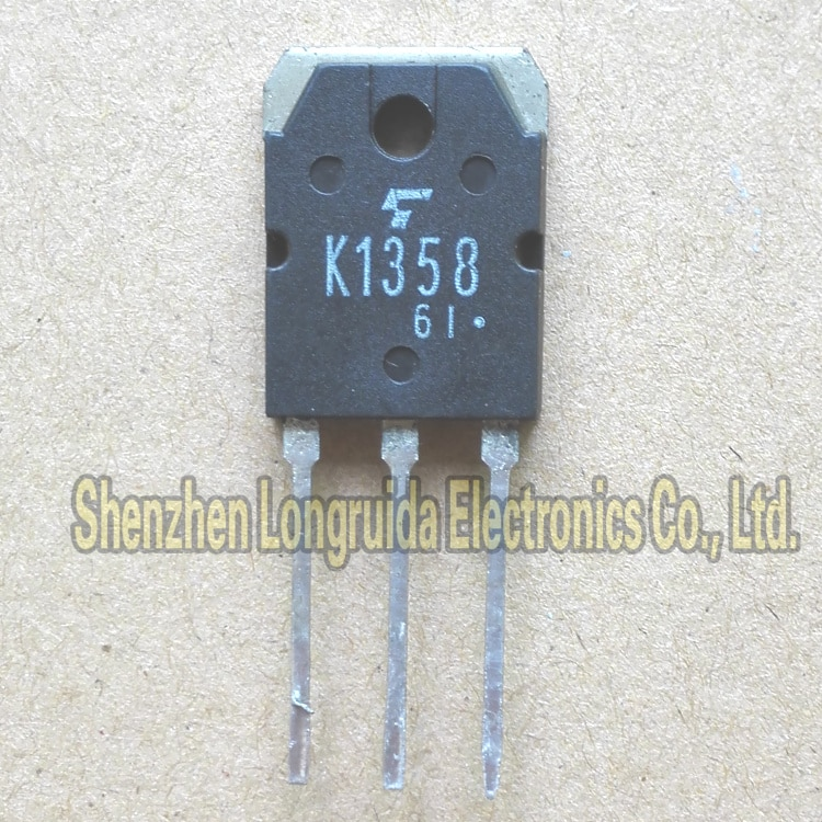 5PCS K1358 2SK1358 TO-3P 9A MOSFET TRANSISTOR 900V Em Estoque