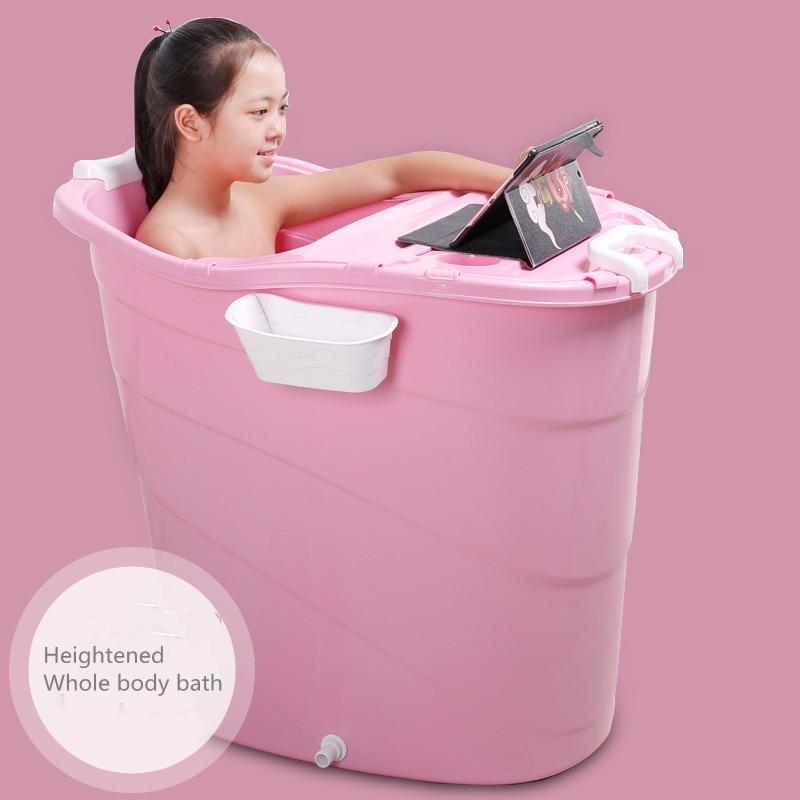2021 Newest  Baby swimming basin    High-position bath bucket    Adult bath tub
