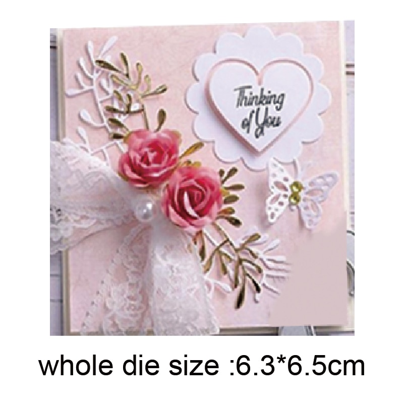 heart shape frame Metal Cutting Dies Stencil for DIY Scrapbooking Album Embossing Paper Cards Decorative Crafts Die Cuts