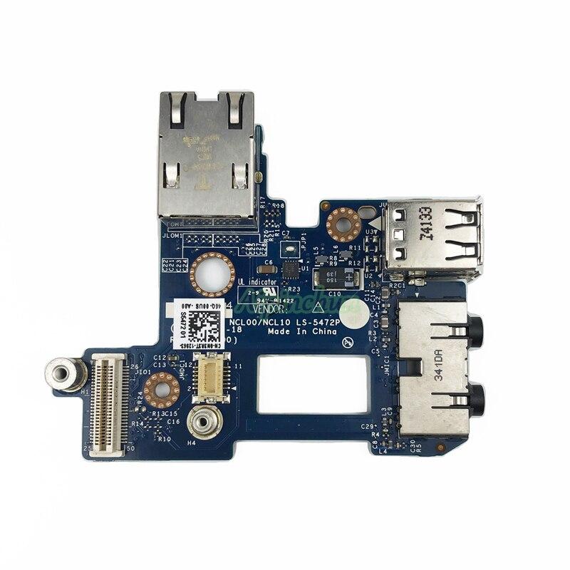 Nuevo Original para Dell E6410 tarjeta de red tarjeta de sonido tarjeta USB tarjeta NCL00/NCL10 LS-5472P CN-0N3R3T