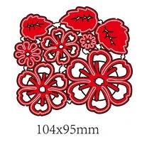 flower cutting dies stencil scrapbooking diy album stamp paper card making decoration crafts