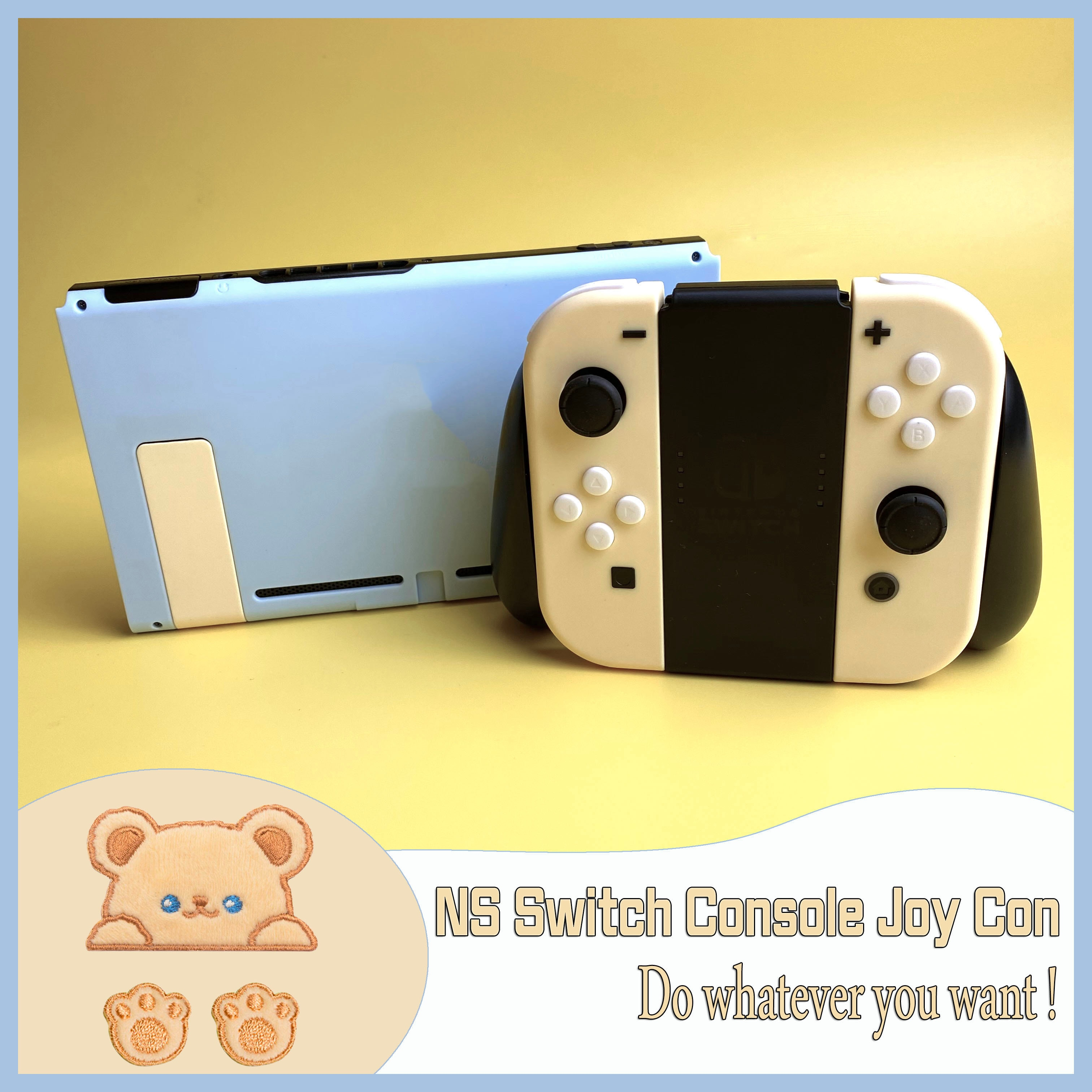 JoyCon Housing Repair Shell For Nintendos Switch NS Replacement Console Joy-Con Case Accessories With Full Set Buttons