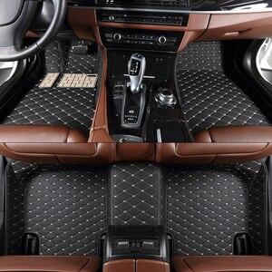 Автомобильный напольный коврик на заказ, подходит для Audi A6 C5 1997 1998 1999 2000 2001 2002 2003, автомобильные аксессуары, Автомобильный Ковер