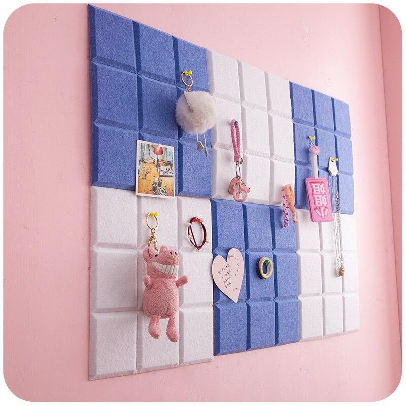 Placa de mensagens em estilo nórdico, placa de carta, nota, decoração de parede, planejador, decoração de escritório e casa